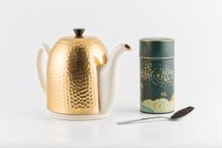 Packshot-Théière et boîte à thé