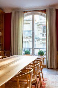 Photographe de décoration : les rideaux en architecture d'intérieur