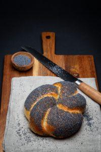 Shooting culinaire de pains et brioches