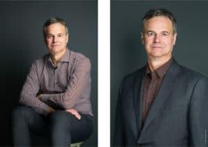 Portraits corporate d'un géomètre expert à Paris